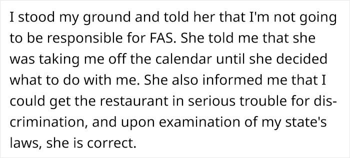 Restaurant Server Secretly Gives Pregnant Woman Non-Alcoholic Cocktails, Faces Backlash Online 10