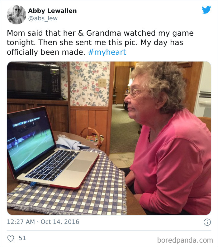 This Mom And Gma Who Make Sure To Never Miss A Game