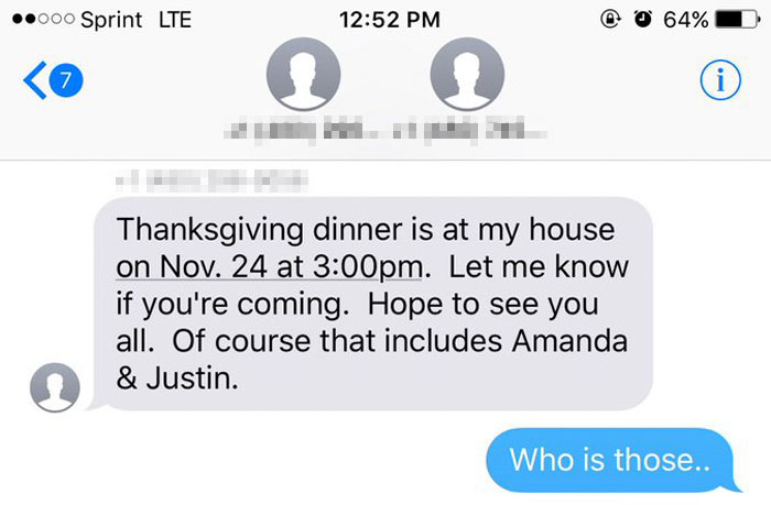 Remember The Grandma Who Accidentally Texted A Teen Inviting Him To Thanksgiving? They Reunite For The 5th Time, This Year Honoring Her Late Husband 3