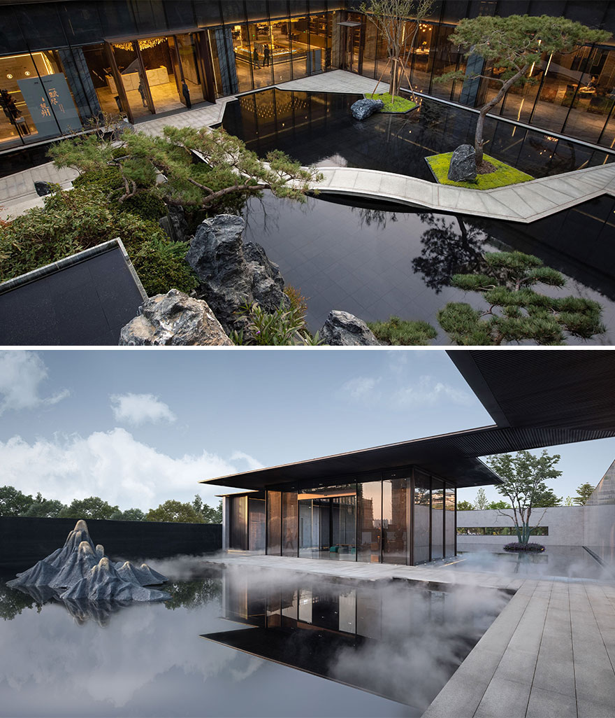 Chinoiserie Mansion Zen Club (Best In Commercial Landscape Architecture)