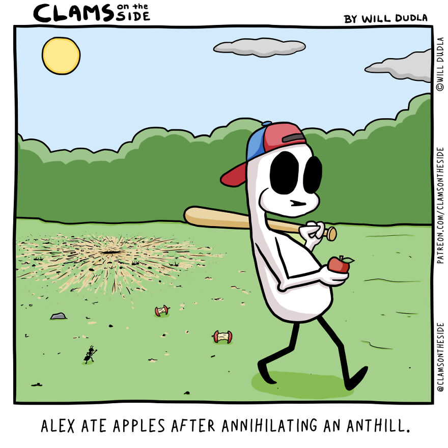 Alphabetically-Alliterate-Comics-Clams-On-The-Side-Will-Dudla