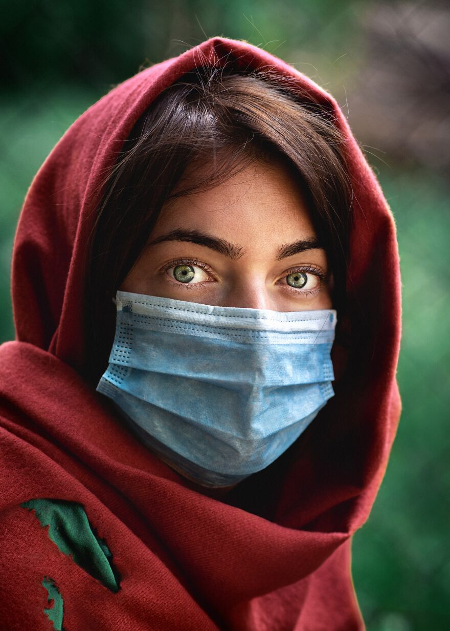 Afghan Girl In 2020