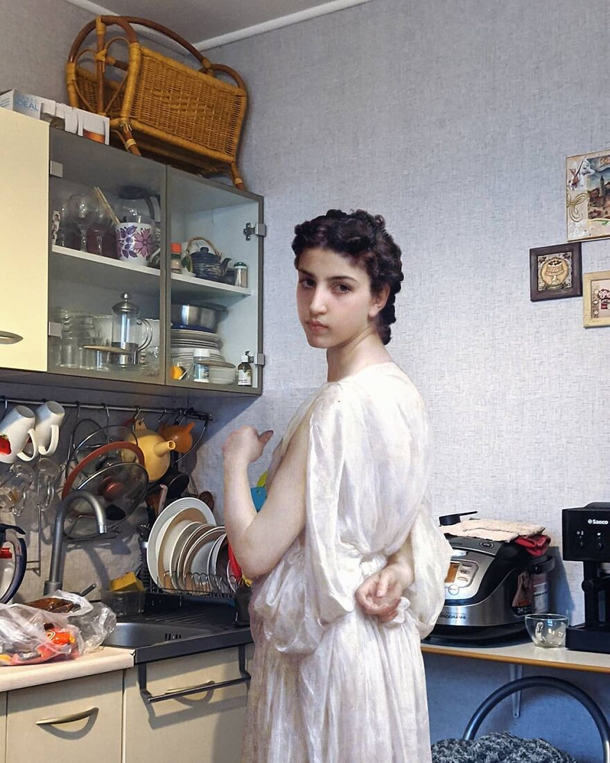 Artist Continues To Incorporate Art History Into His Daily Life