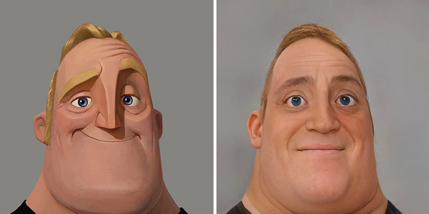 Mr. Incredible From The Incredibles