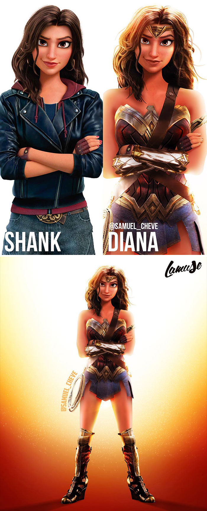 Shank And Diana