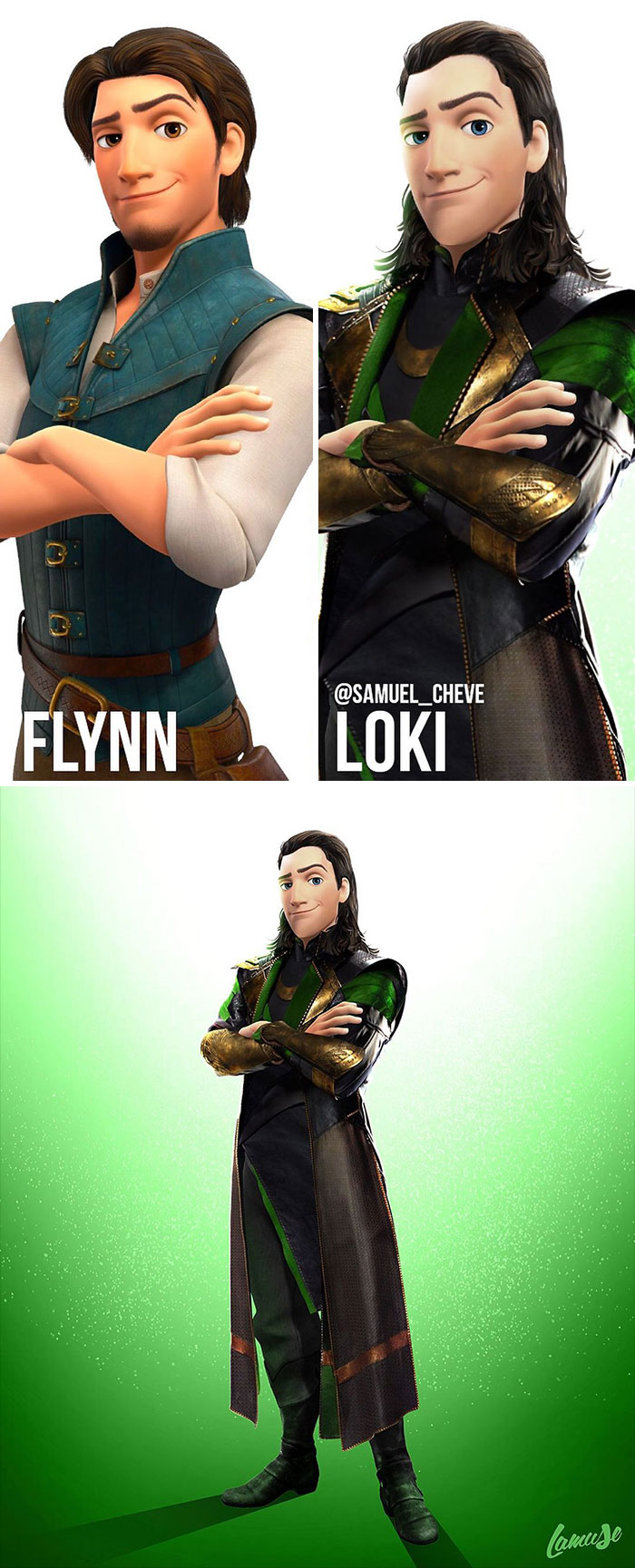 Flynn And Loki