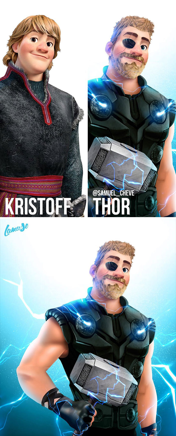 Kristoff And Thor