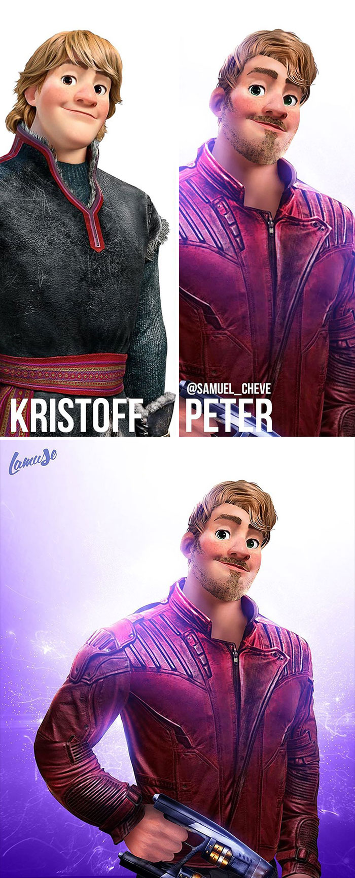 Kristoff And Peter Quill 'Star Lord'