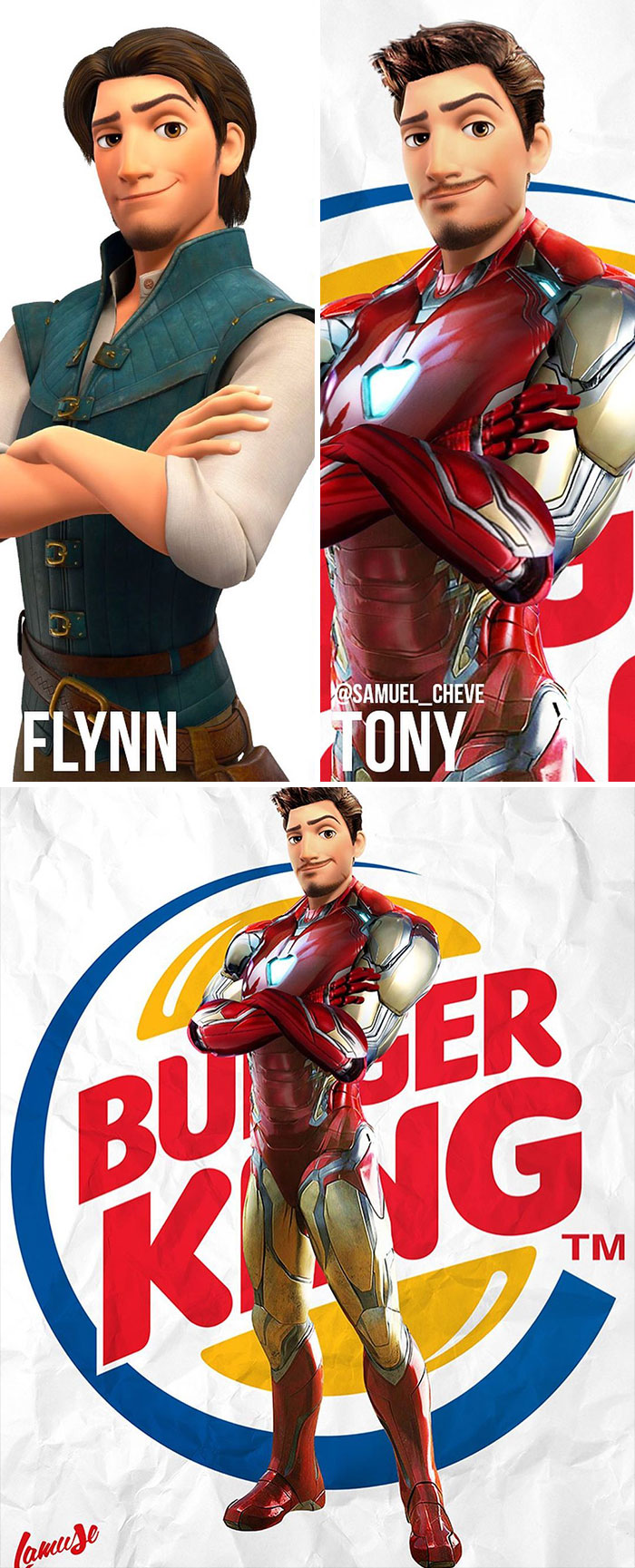 Flynn And Tony Stark 'Iron Man'