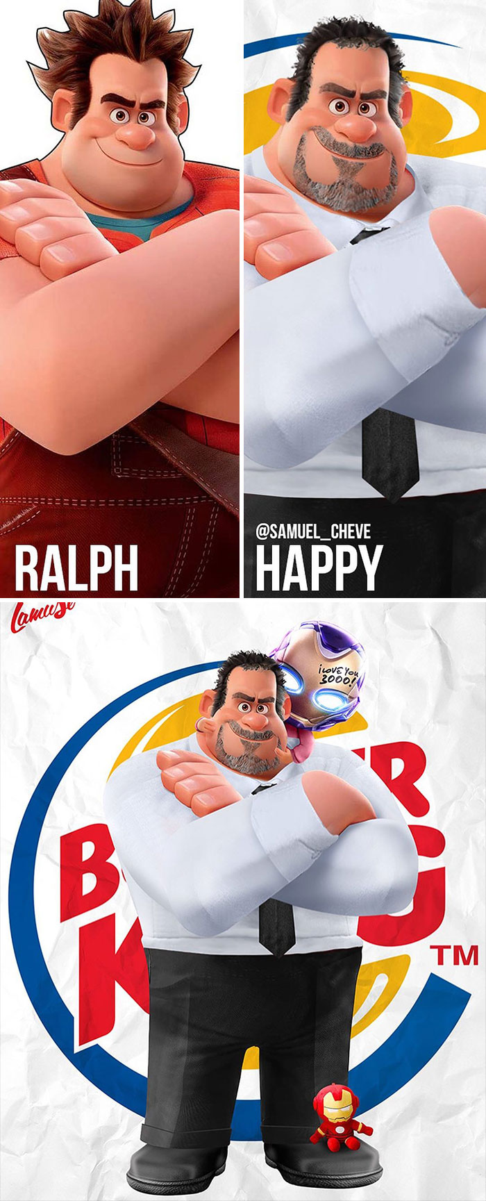 Ralph And Happy