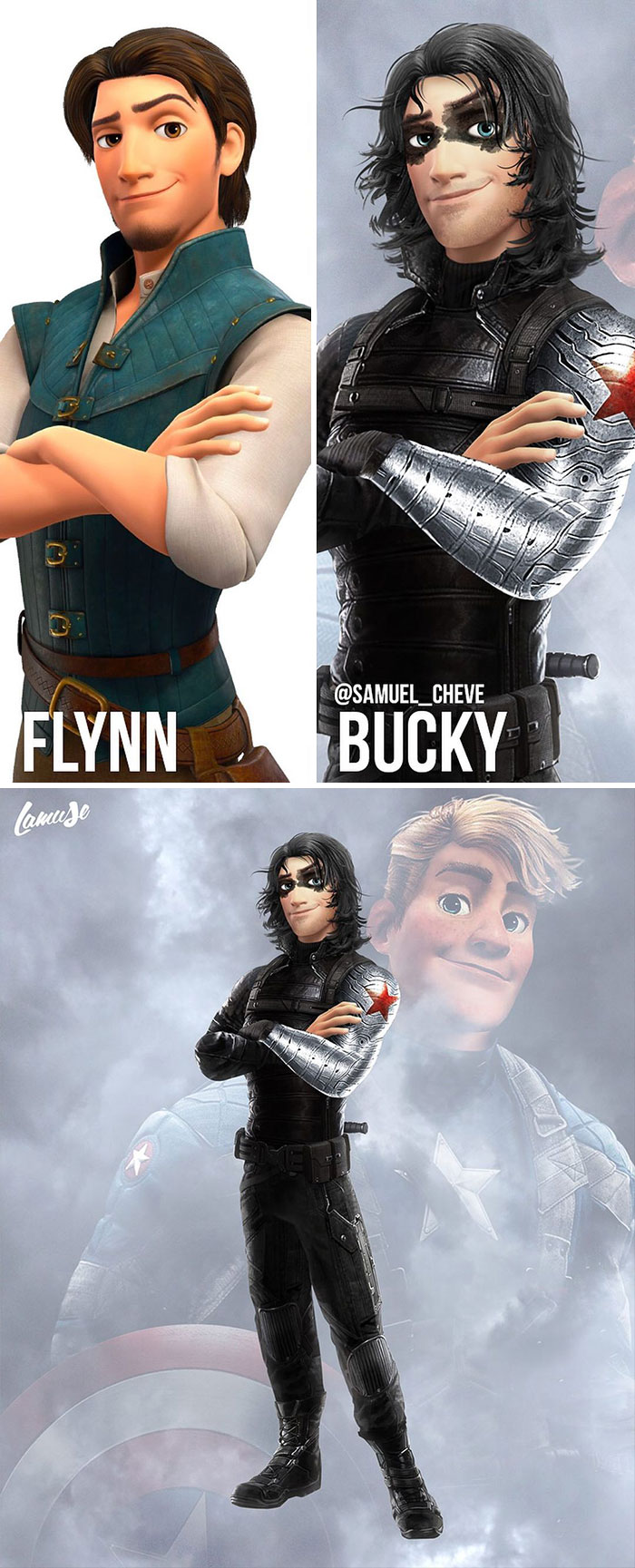 Flynn And Bucky