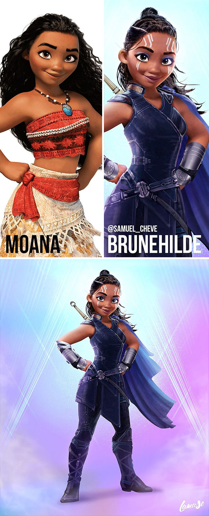Moana And Brunehilde
