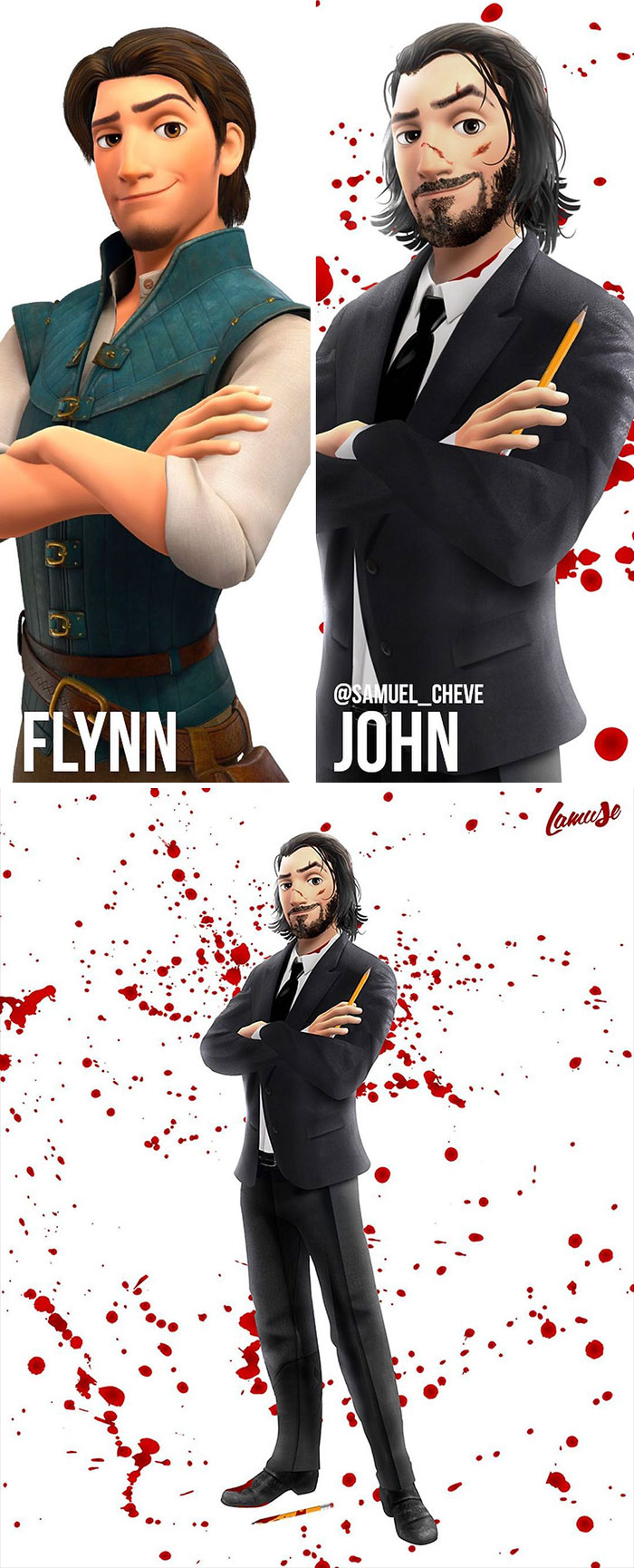 Flynn And John Wick
