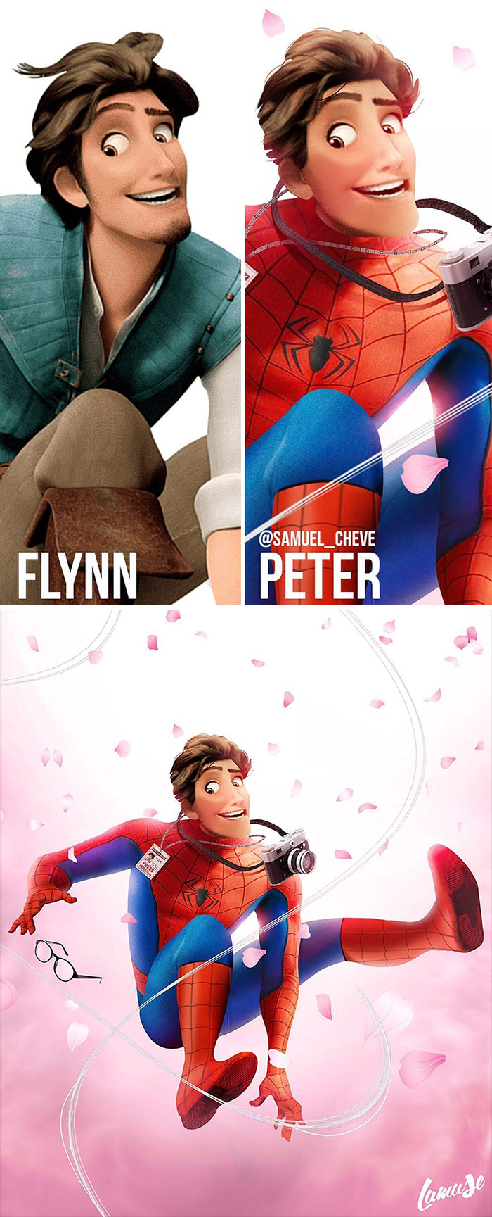 Flynn And Peter Parker 'Spiderman'