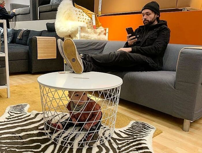 Sentirse como en casa en el Ikea