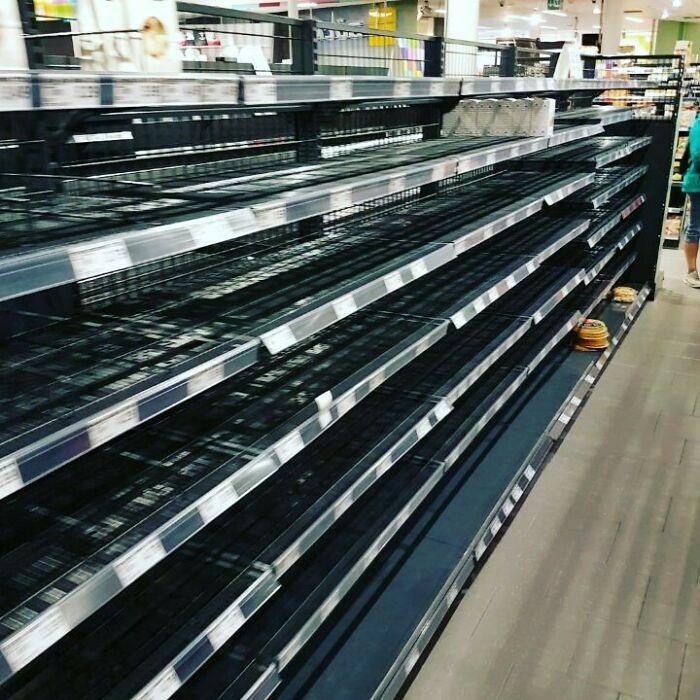 ¿Qué pasaría si quitaran todos los productos extranjeros de los supermercados?