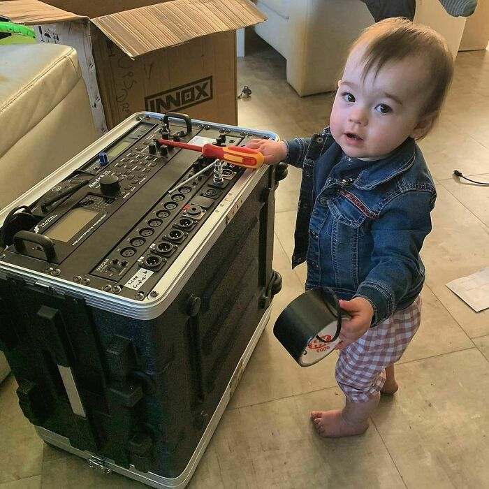 Fixing Some Of Dad's Equipment