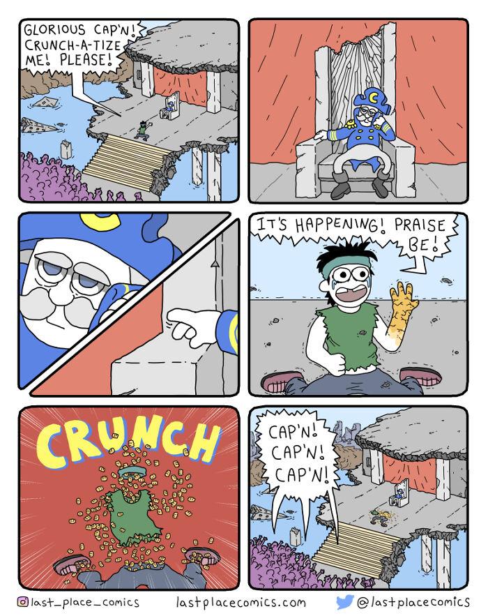 Crunch-A-Tize Me, Cap'n!