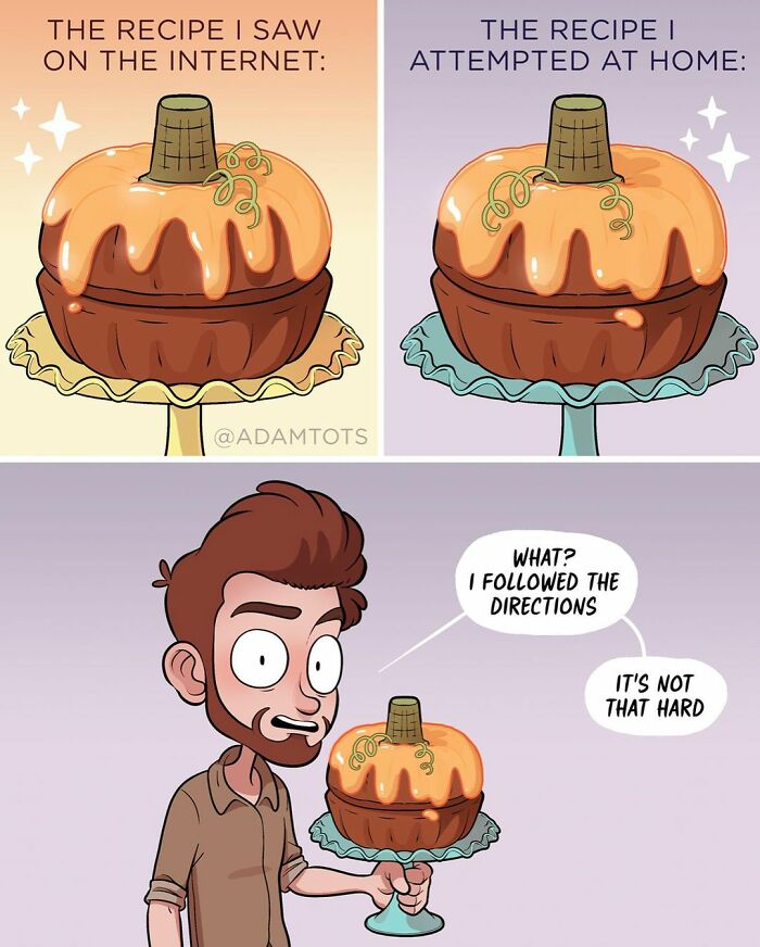 Funny Comics That Reveal Everyday Life With A Touch Of Humor By Adam Ellis