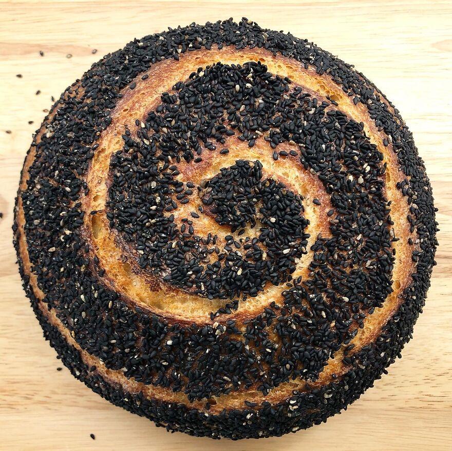 I Make Sourdough Bread From Scratch