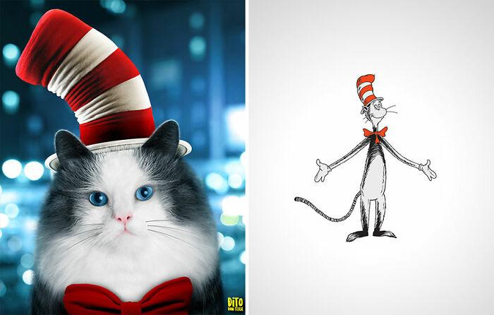 El gato con sombrero