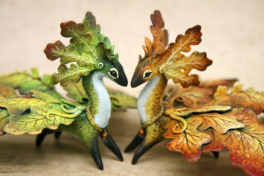 Oak Dragons