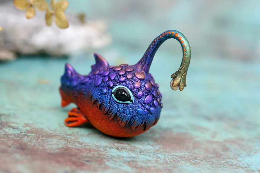 Cute Angler Fish