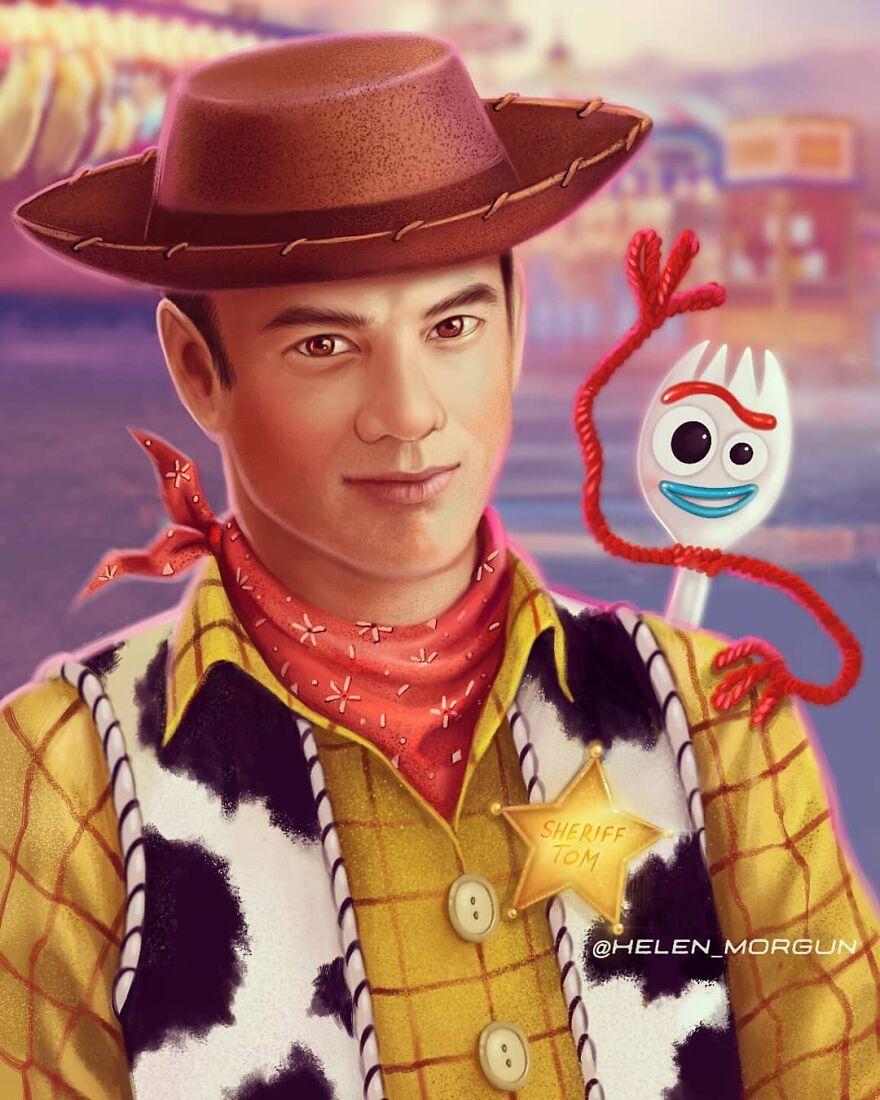 Tom Hanks As Sheriff Woody