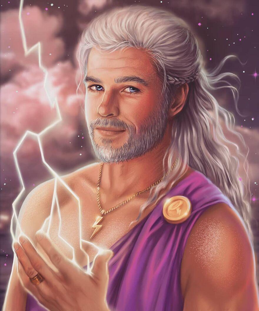 Chris Hemsworth As Zeus