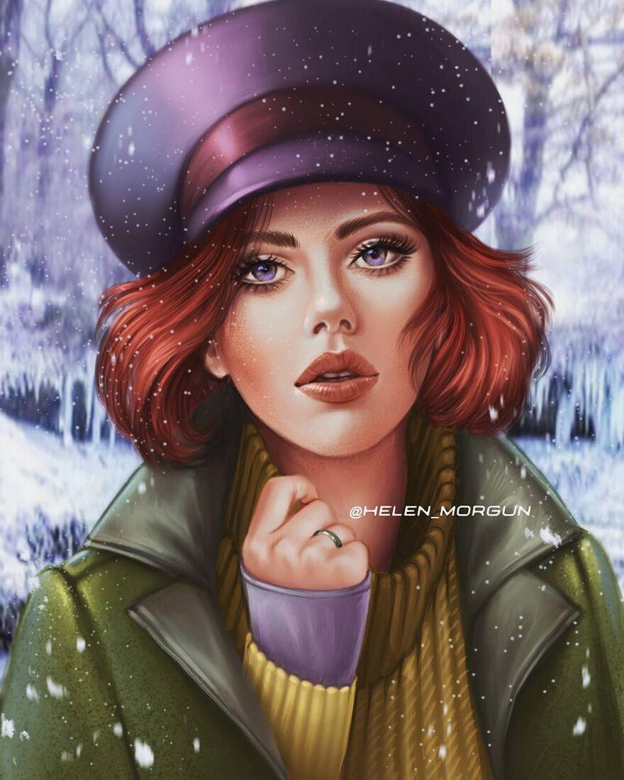 Scarlet Johansson As Anastasia