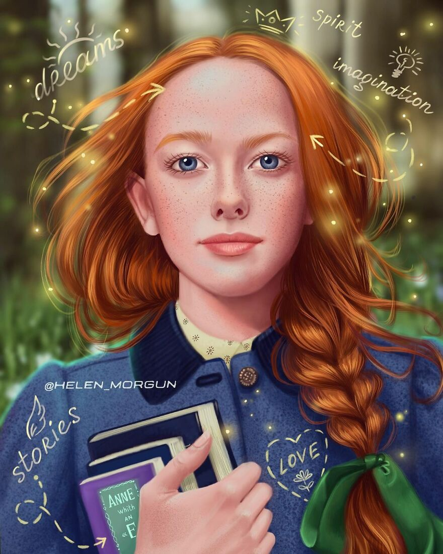 Amybeth Mcnulty As Anne