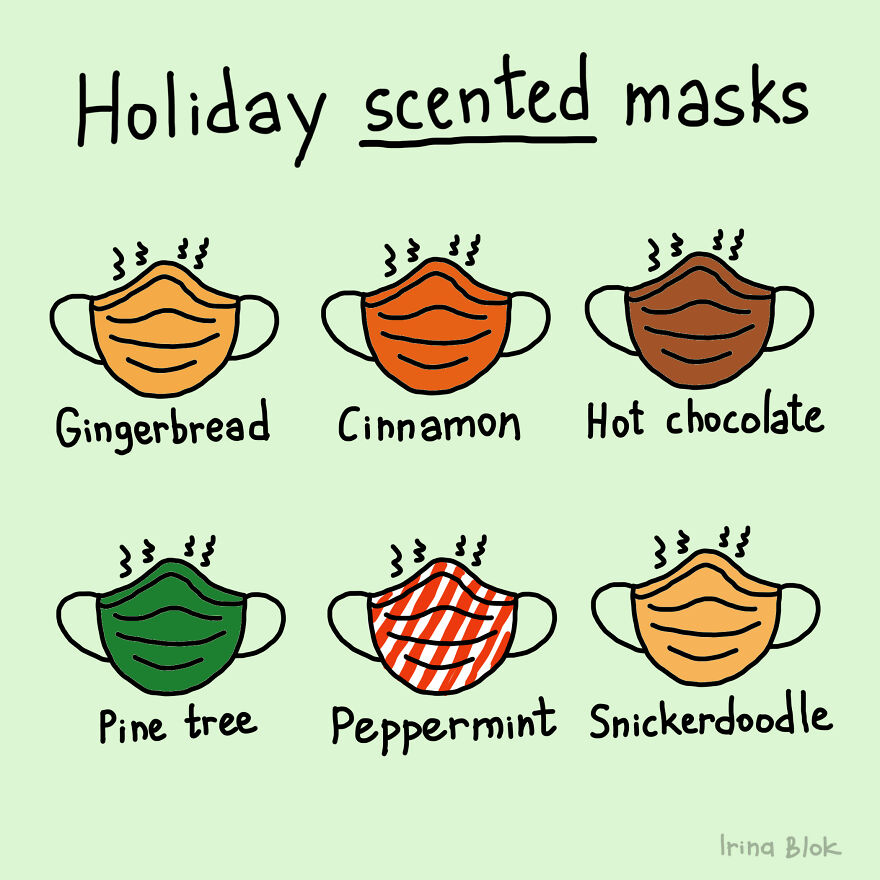 Holiday Scented Masks