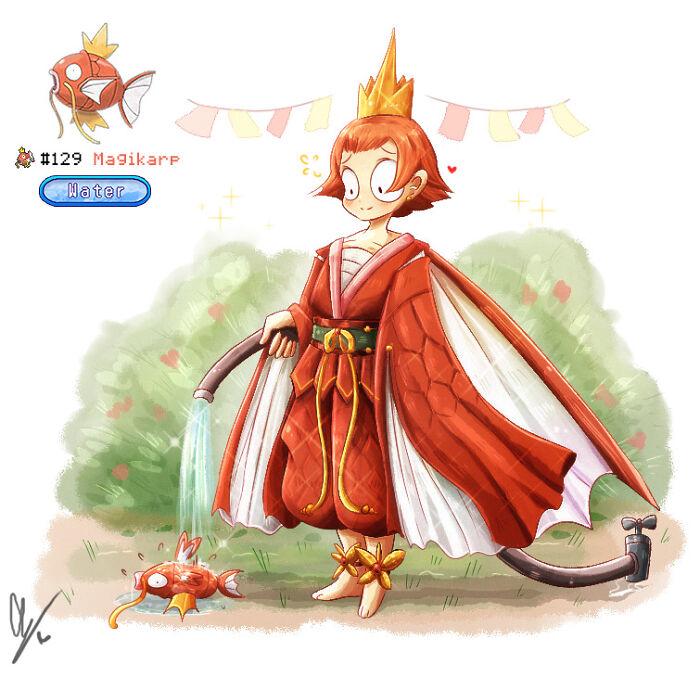 Young Koiki The Magikarp