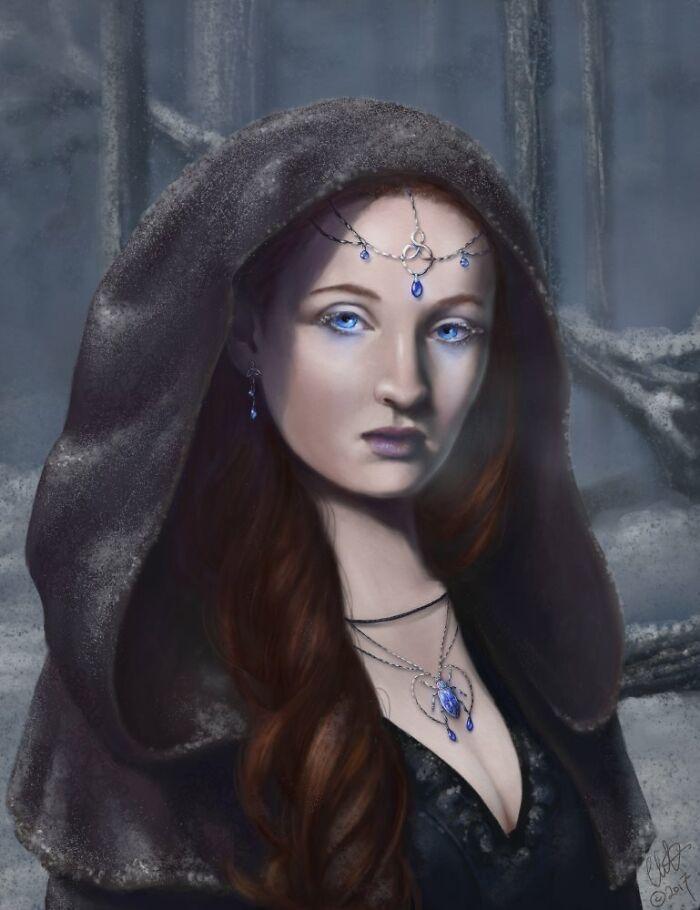 Sansa As A White Walker