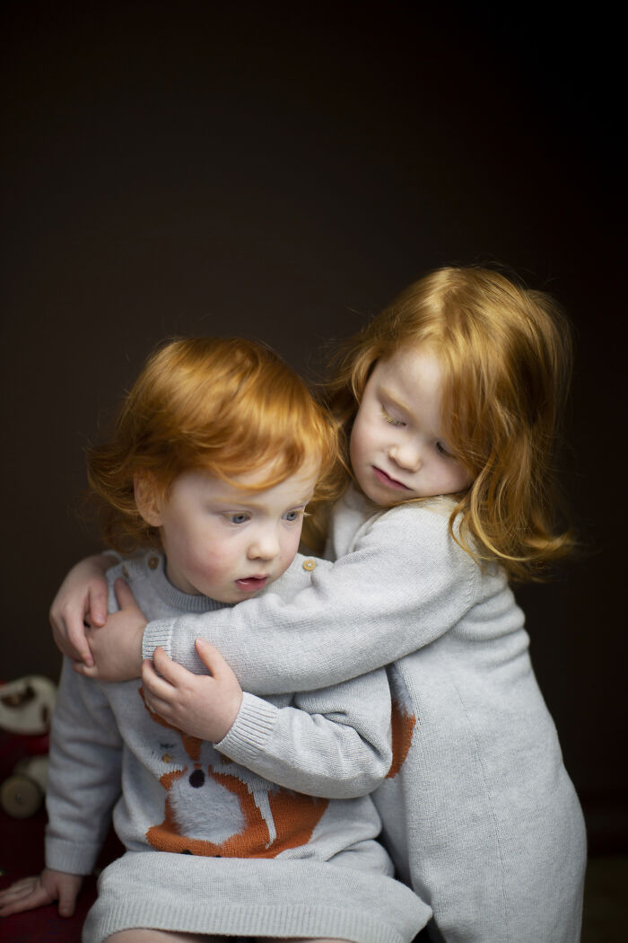 Izzy & Ada Dodds, Escocia, hijas del fotógrafo