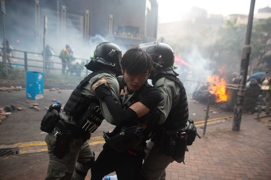 Siege Of The Hong Kong Polytechnic University