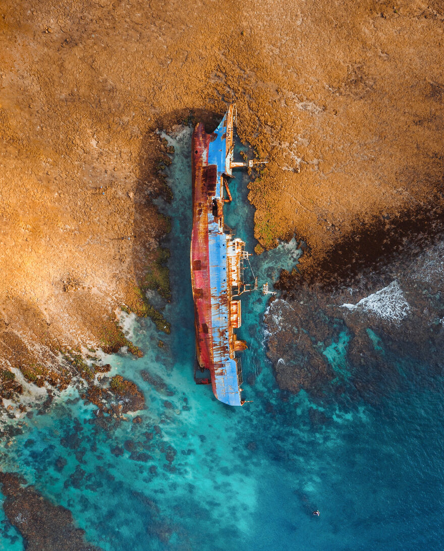 The Wreck Of An Illegal Fishing Vessel