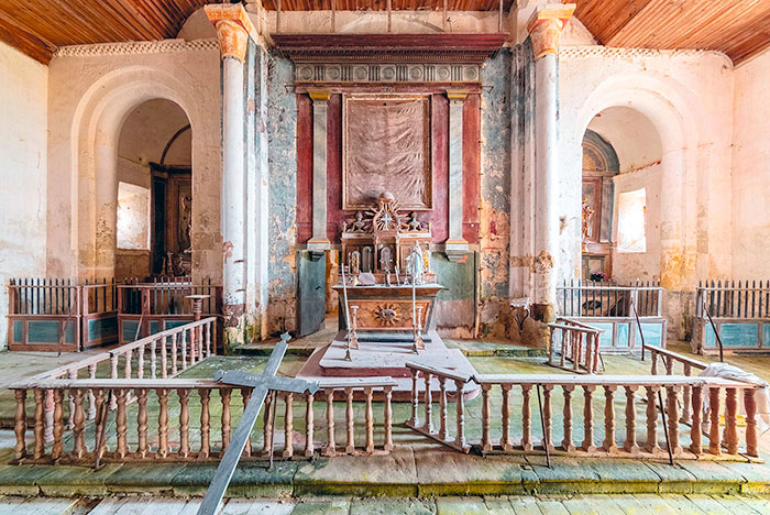I Traveled Thousands Of Kilometres Across Europe Over The Past 8 Years, Here Are 35 Photos Of Abandoned Churches That I Discovered