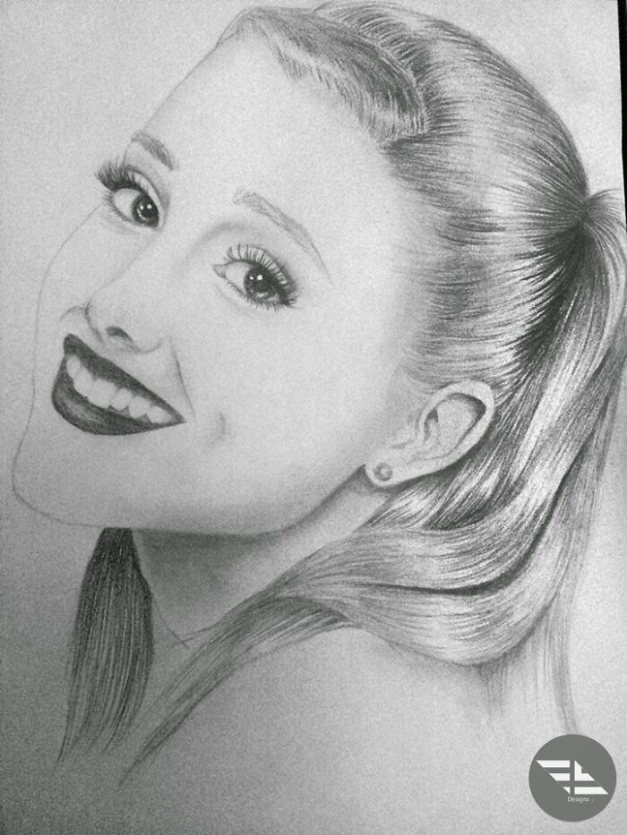 This Portrait Of Ariana I Made.