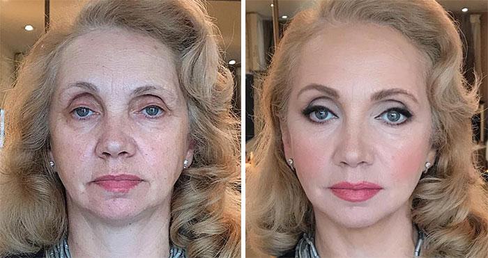 """Este maquillador ruso permite a la gente experimentar lo que él llama el """"efecto Cenicienta"""""""