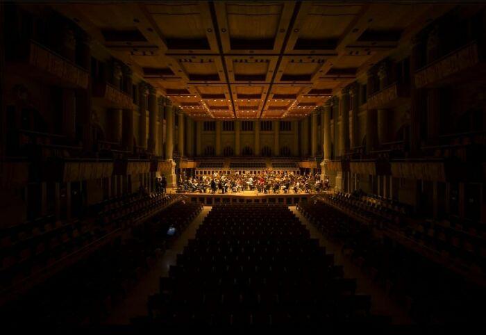 Rehearsal Of The São Paulo Symphony Orchestra