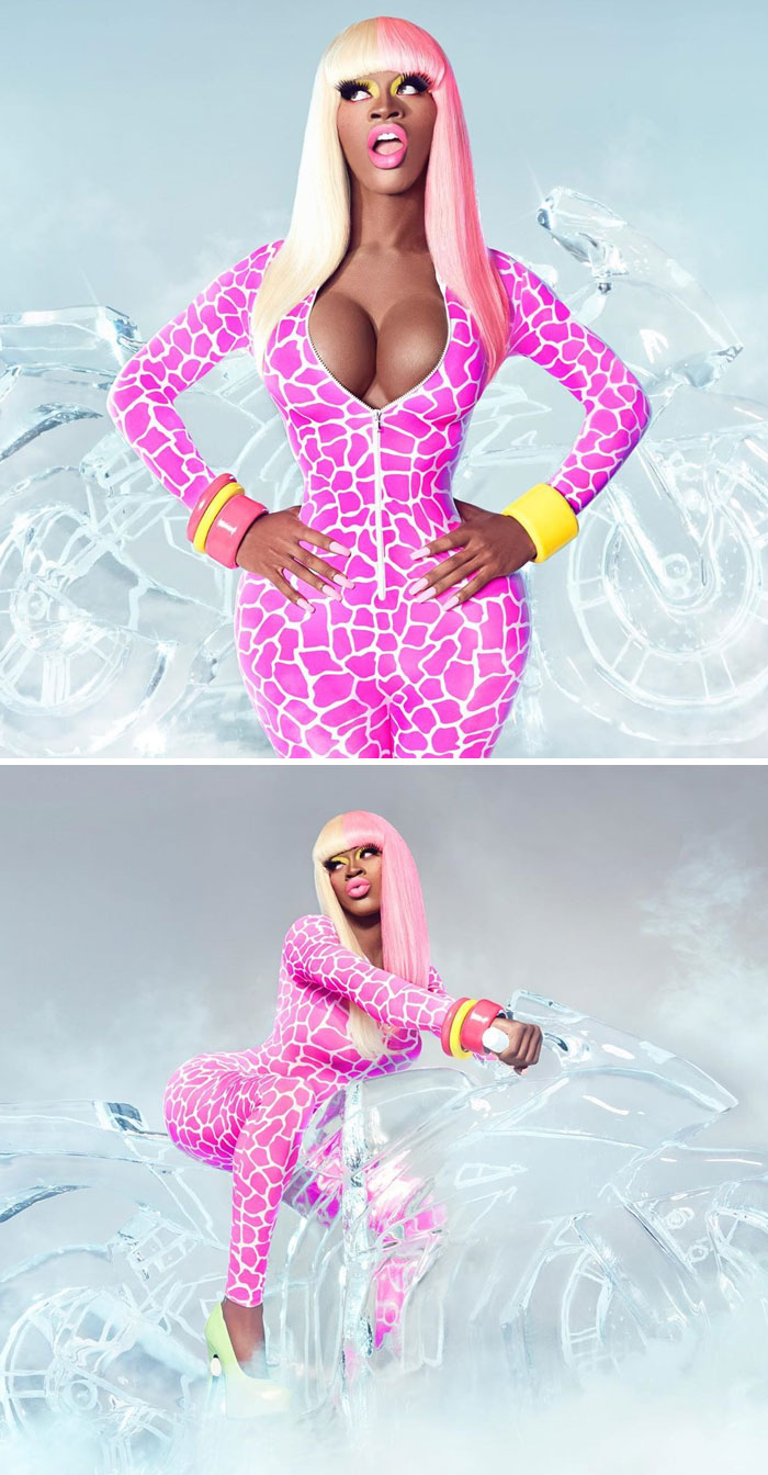 Lil Nas X As Nicki Minaj