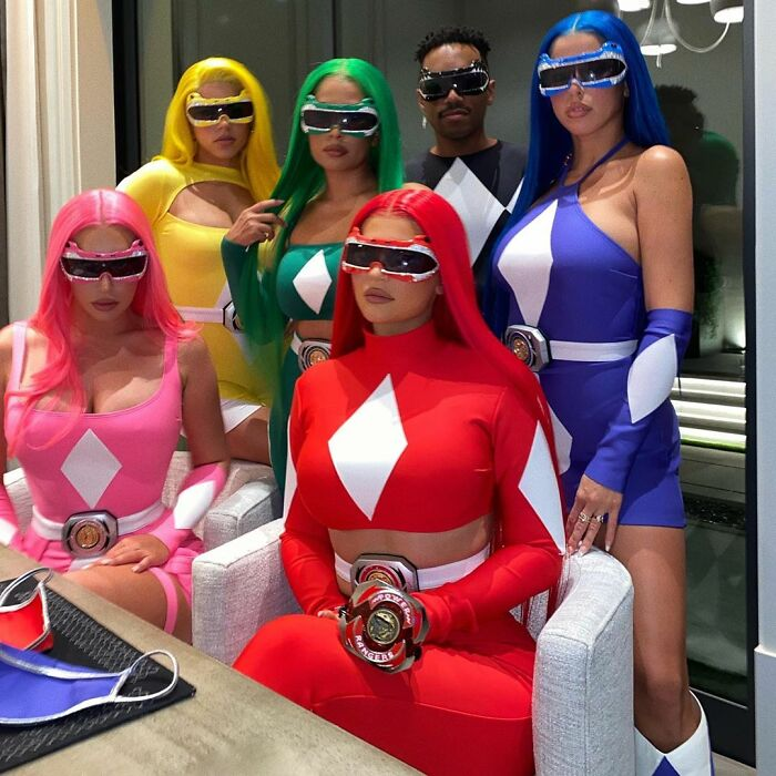 Kylie Jenner As Power Rangers