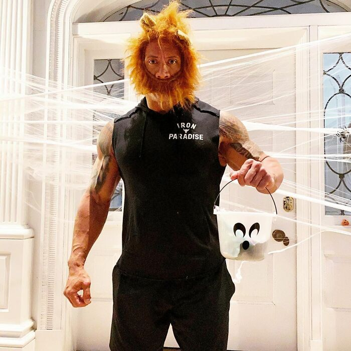 The Rock As Mufasa