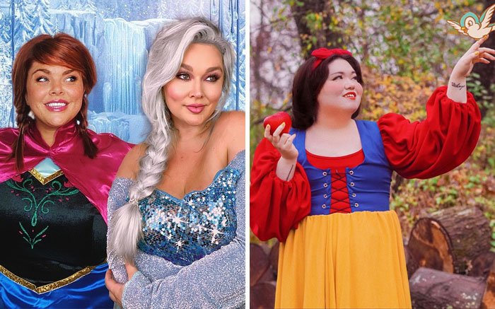 """Our Larger Bodies Are Clearly Lacking Representation In Media"": Plus-Size Models Pose As Disney Princesses (16 Pics)"