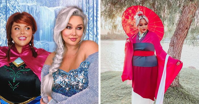 Plus-Size Influencers Dress Up As Disney Princesses To Challenge Common Beauty Standards