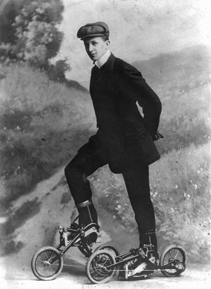 Bicicletas para los pies