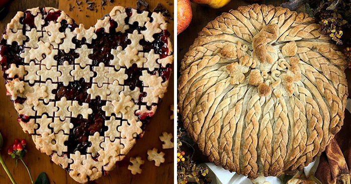 Self-Taught Baker Creates Pies So Stunning, They Would Fit Any Thanksgiving Table (30 Pics)