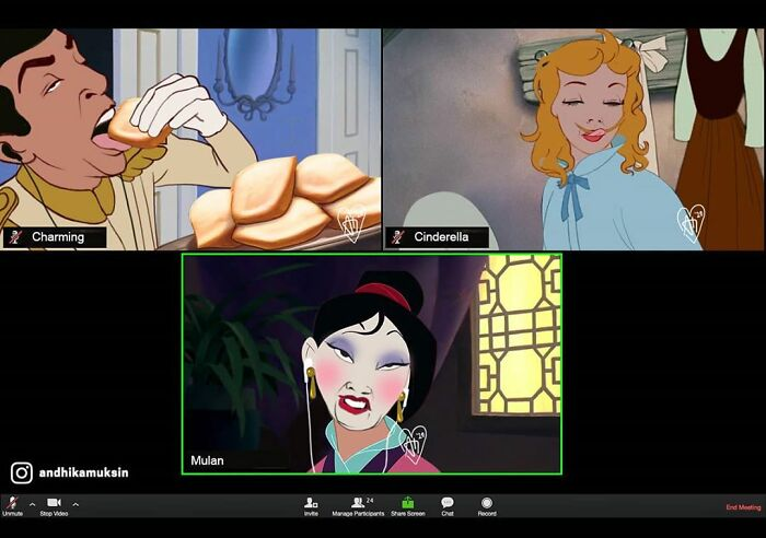 Whatever Happens In This Zoom Meeting, We May Never Know...