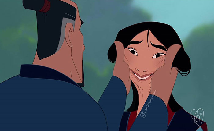 Mulan's Dad Really Misses Her